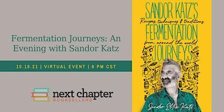 VIRTUAL EVENT: Fermentation Journeys: An Evening with Sandor Katz tickets