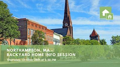 Northampton, MA: Backyard Home Info Session tickets