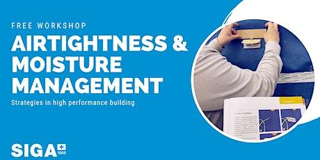 SIGA Airtightness Workshop (Coquitlam, BC) tickets