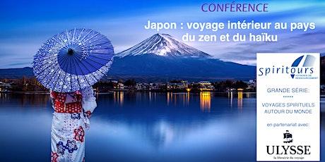"""Webinaire """"Japon: Voyage intérieur au pays du zen et du haïku"""" billets"""