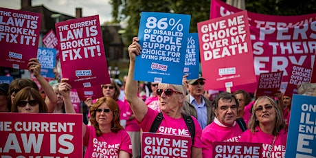 Assisted Dying Bill Demonstration tickets