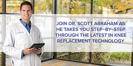 New Technology in Hip and Knee Replacement - Navio Robotics tickets