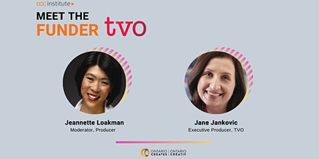 DOC Institute Presents: Meet the Funder with TVO tickets