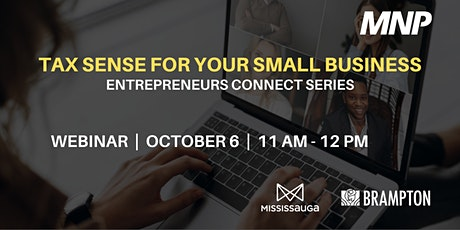 Tax Sense for Your Small Business tickets