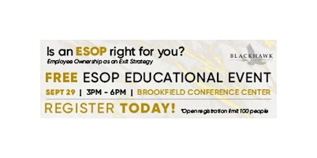 Is An ESOP Right for You (Employee Ownership as an Exit Strategy) tickets