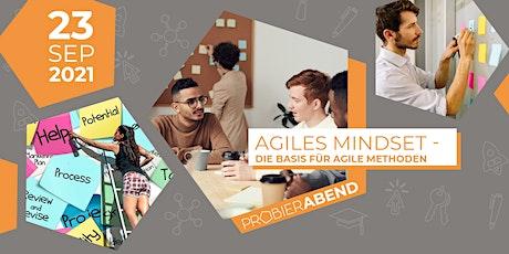 Probierabend: Agiles Mindset - Die Basis für agile Methoden Tickets