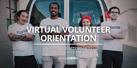 Virtual Volunteer Orientation tickets