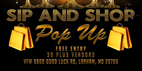 Sip and Shop Pop Up tickets