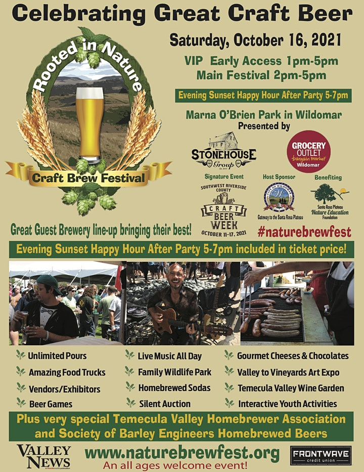 ROOTED IN NATURE CRAFT BREW FESTIVAL image