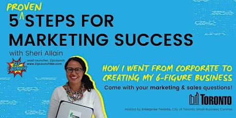 Ask the Expert - Marketing & Sales biljetter
