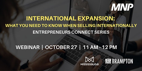 International Expansion: What You Need To Know tickets