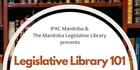 Legislative Library 101 tickets