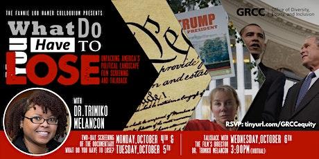 Fannie Lou Hamer Colloquium with Dr. Trimiko Melancon tickets