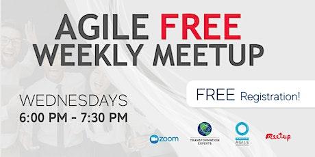 Agile Free Weekly Meetup - New York, NY tickets