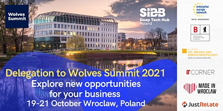 Delegation  to Wolves Summit 2021 (Wroclaw, Poland).19-21.10.2021 tickets