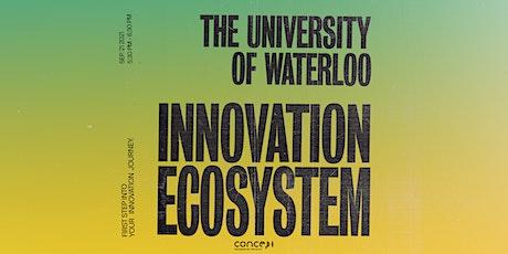 F21: The UWaterloo Innovation Ecosystem tickets