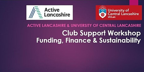 Club Support Workshop: Funding, Finance & Sustainability tickets