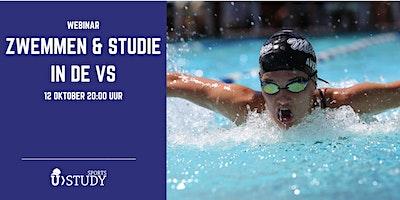 """Gratis webinar  Zwemmen & Studie in de VS"""""""