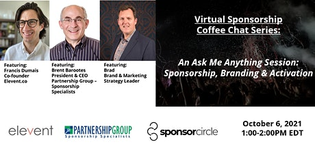 Virtual Coffee Chat-Sponsorship: An Ask Me Anything Session tickets