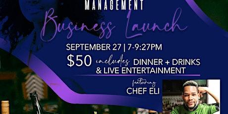 KJ Management Business Launch tickets