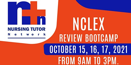 NCLEX REVIEW BOOTCAMP tickets