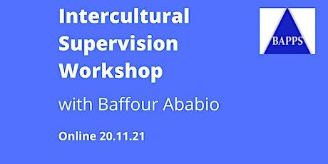 Intercultural Supervision Workshop tickets