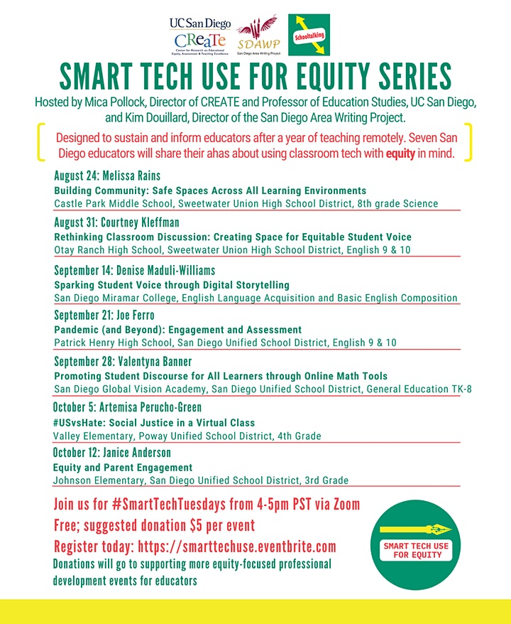 Smart Tech Use For Equity Series image