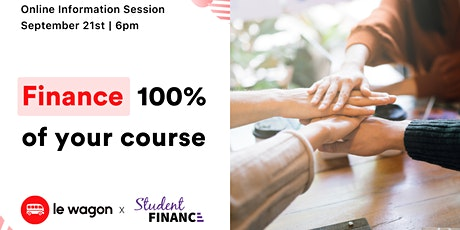 Course Funding: StudentFinance x Le Wagon Spain tickets