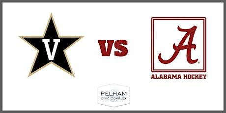 Alabama Hockey (D2) vs Vanderbilt tickets