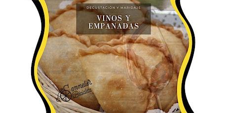 Degustación. Maridaje de Empanadas y Vinos entradas