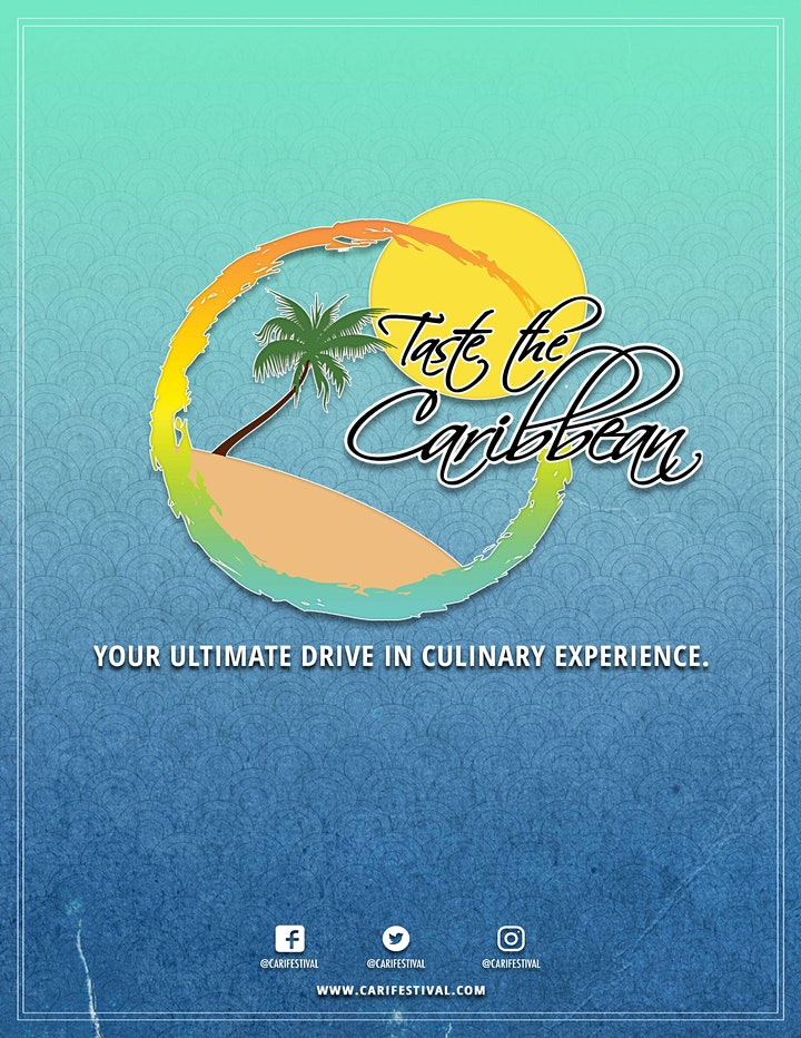 Taste the Caribbean - Ultimate Drive-In Culinary Experience image