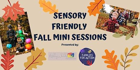 Sensory Friendly Fall Mini Sessions tickets