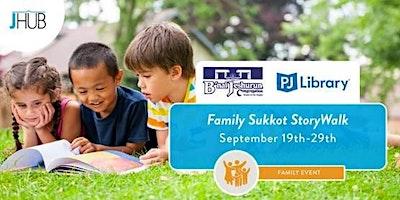 Family Sukkot StoryWalk
