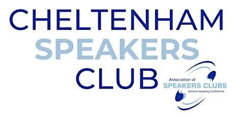 Cheltenham Speakers Club (Virtual Event) tickets