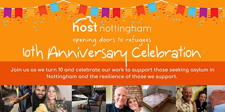 Host Nottingham's 10th Anniversary Celebration tickets