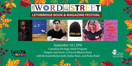 Chapter and Verse: A Trio of Alberta Poets tickets