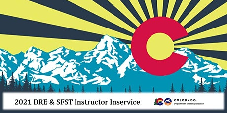 2021 Colorado SFST Instructor In-Service (Northglenn) tickets