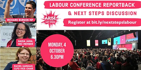 Labour Conference reportback & next steps discussion tickets