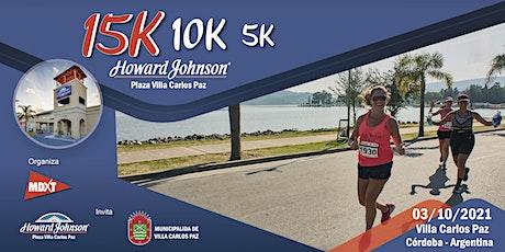 15K Howard Johnson, Villa Carlos Paz. entradas