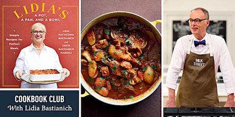 Milk Street Cookbook Club: Lidia Bastianich billets