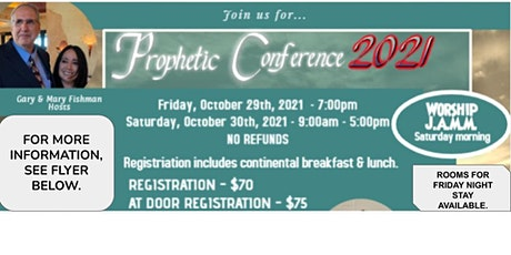 PROPHETIC CONFERENCE 2021 tickets