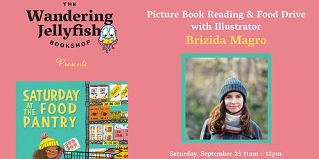 Book Signing and Food Drive with Illustrator Brizida Magro tickets