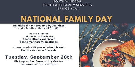National Family Day- Dinner Together! South Windsor Families tickets