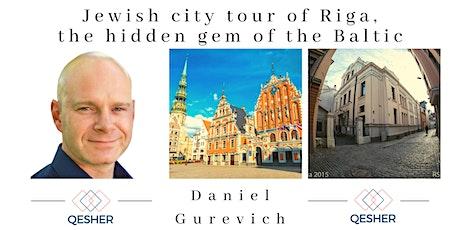 Jewish city tour of Riga, the hidden gem of the Baltic biglietti