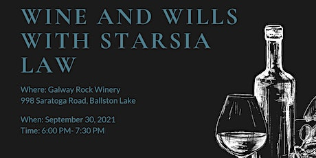 Wine and Wills at Galway Rock Winery tickets