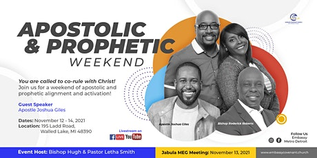 Apostolic and Prophetic Weekend tickets