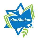 Sim Shalom Jewish Universalist Synagogue logo