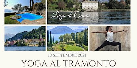 YOGA AL TRAMONTO (Varenna - Lago di Como) biglietti