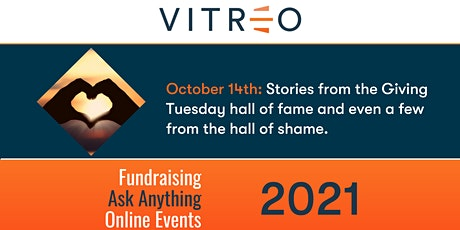 ViTreo's Fundraising Ask Anything Online Events: Season 4 tickets