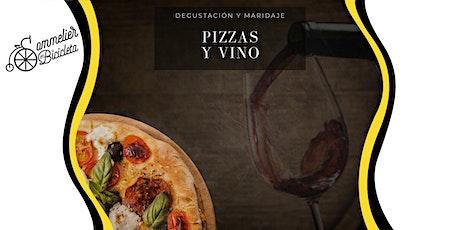Degustación. Maridaje de Pizzas y Vinos entradas